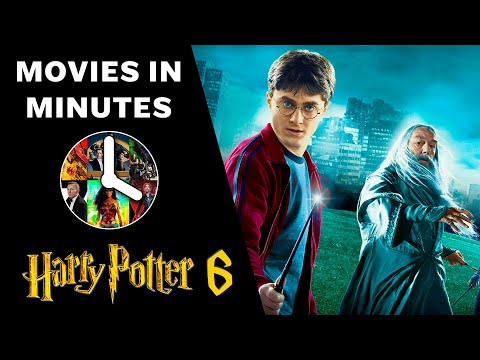 HARRY POTTER AND THE HALF-BLOOD PRINCE In 4 Minutes (Movie Recap)
