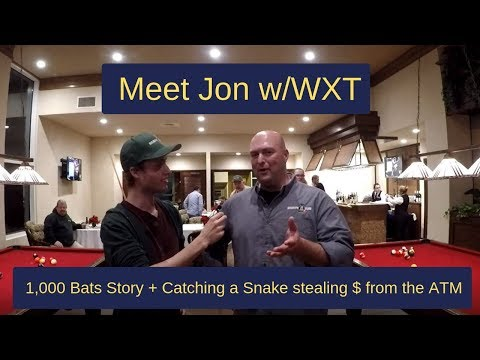 1,000+ Bats Shocking Story, Snake in the ATM, Shocking Wildlife Stories +  More