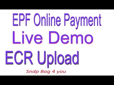 how-to-payment-epf-online-|ecr-download-&-upload|-create-chalan-live-demo
