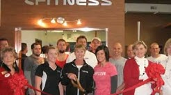 Anytime Fitness ribbon cutting 12.12.11