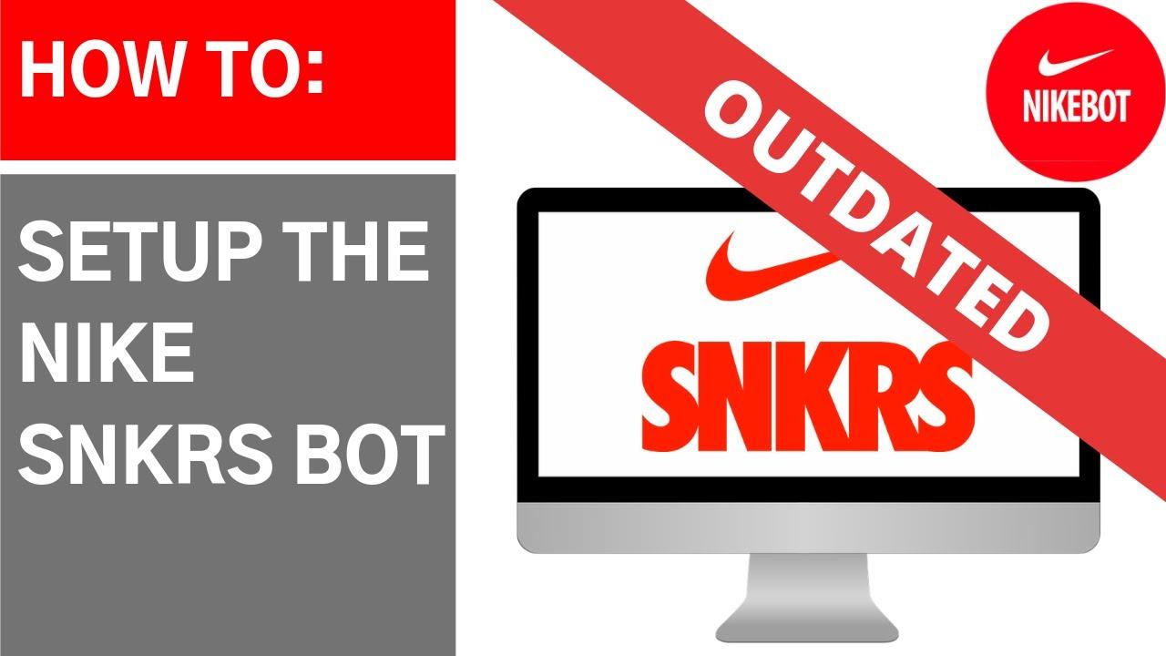 gasolina compacto Filadelfia  Nike SNKRS Bot - How to setup the Nike SNKRS Bot! - YouTube