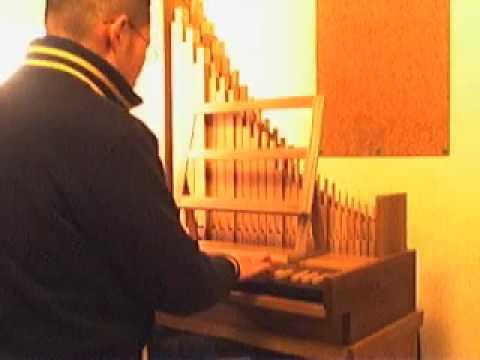 homemade pipe organ  ACorelli Benedicti
