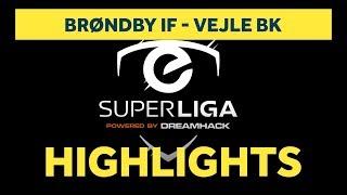 eSuperliga: Højdepunkter fra sejren over Vejle | brondby.com