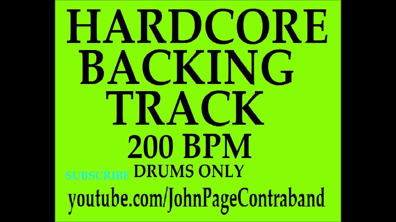 Hardcore Drum Beat 53