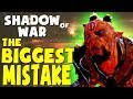 Middle Earth: Shadow of War - THE BIGGEST MISTAKE (Gravewalker Difficulty)