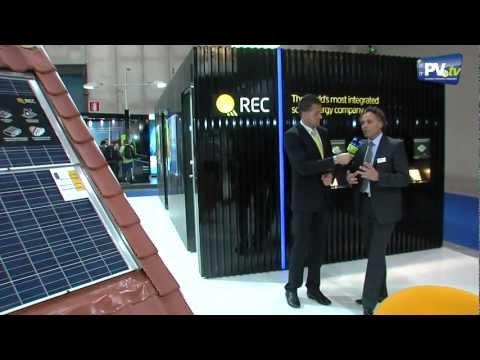 Solarexpo 2012 - intervista con REC Solar da RERi PV.tv