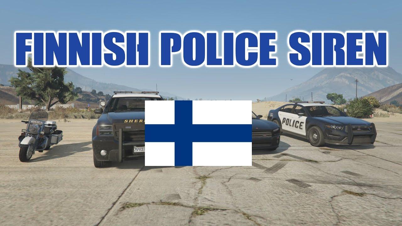 GTA 5 - Finnish Police Siren / Official Video (Mod)