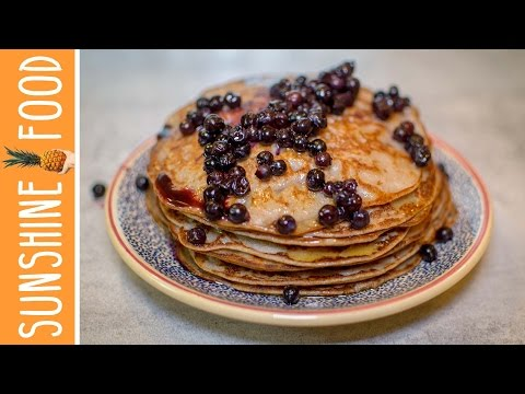pancakes-vegan-À-la-banane⎪sunshine-food