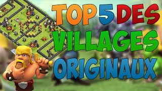 TOP 5 DES VILLAGES WTF ! [CLASH OF CLANS]