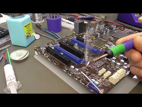 MSI 970A-G43. Устранение типовой неисправности.