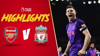 Highlights: Arsenal 1-1 Liverpool | Reds take point from Emirates