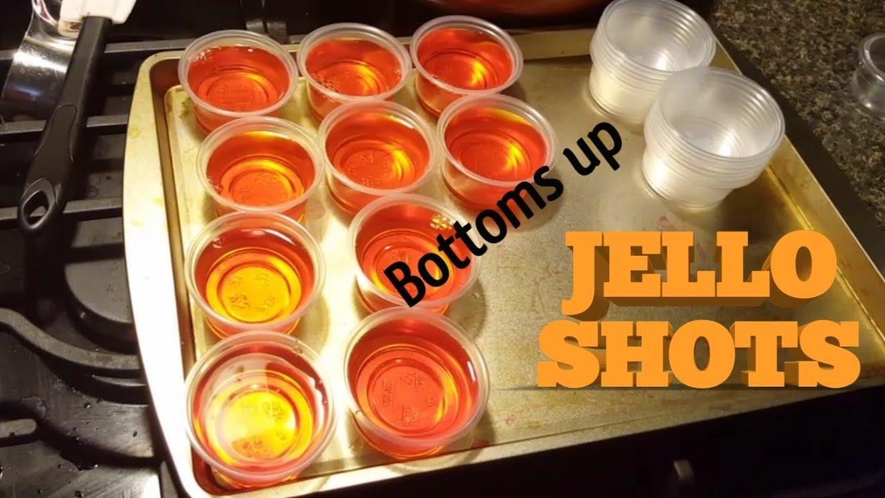 New years jello shots - YouTube
