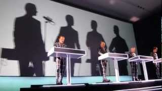 Kraftwerk - Showroom Dummies - MoMA 2012
