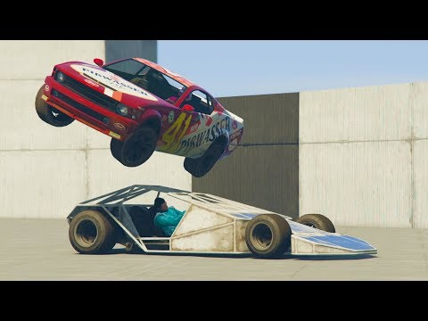 LANZO A UN SUSCRIPTOR!! - CARRERA GTA V ONLINE - GTA 5 ONLINE