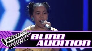 Laura Halo Blind Auditions The Voice Kids Indonesia Season 3 GTV 2018