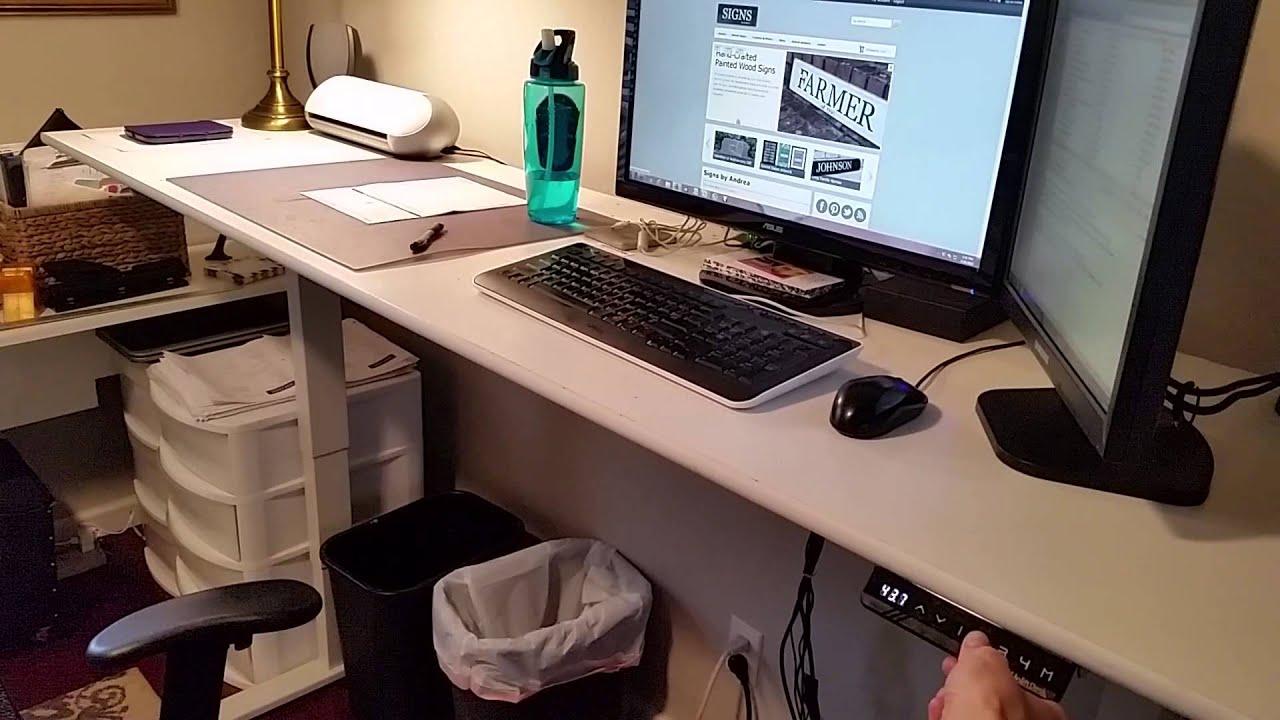 Uplift 900 Adjustable Desk Review YouTube