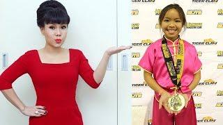 Việt Hương Tự Hào Khoe Con Gái Đạt Giải Đồng Cuộc Thi Wushu Ở Mỹ - TIN TỨC 24H TV