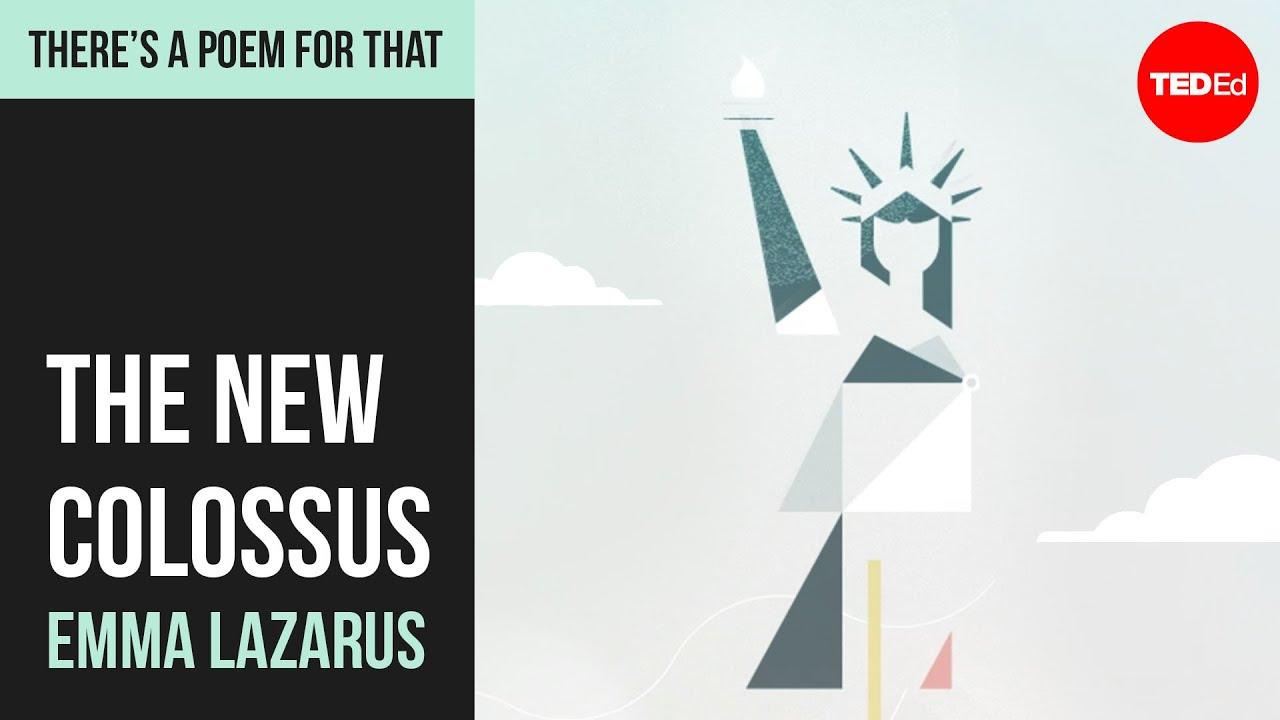 New Colossus By Emma Lazarus