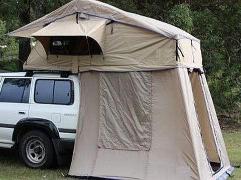 & Expedition Roof Tent Part 1 - Direct4x4 - YouTube