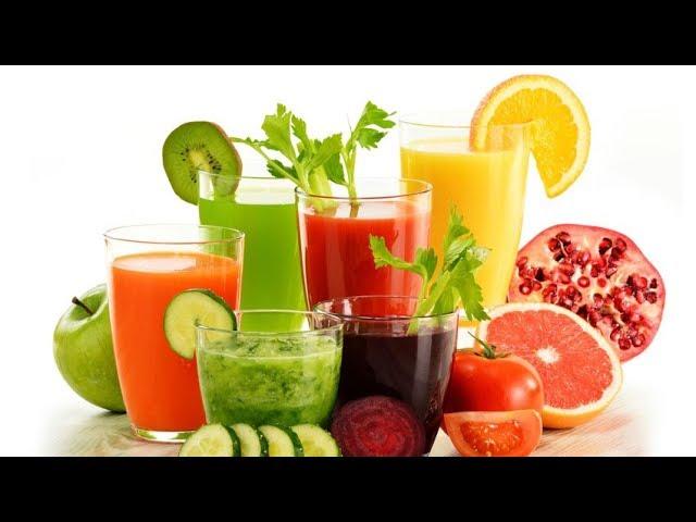 5. Superodżywianie -  Soki, szejki, zielona żywność