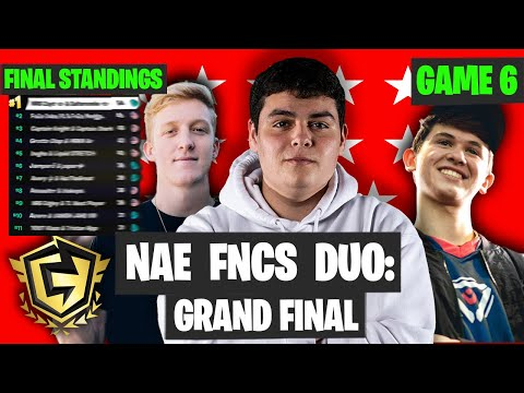 Fortnite FNCS NAE Final Game Highlights - Final Standings