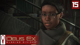 Deus Ex Mankind Divided Gameplay Part 15 - Golem - Lets Play [Stealth Pacifist PC]