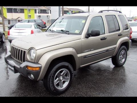 2004 Jeep Liberty 3.7L Sport Columbia Edition Walkaround, Start up, Tour and Overview