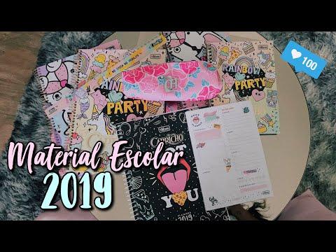 MATERIAIS ESCOLARES CAPRICHO 2019