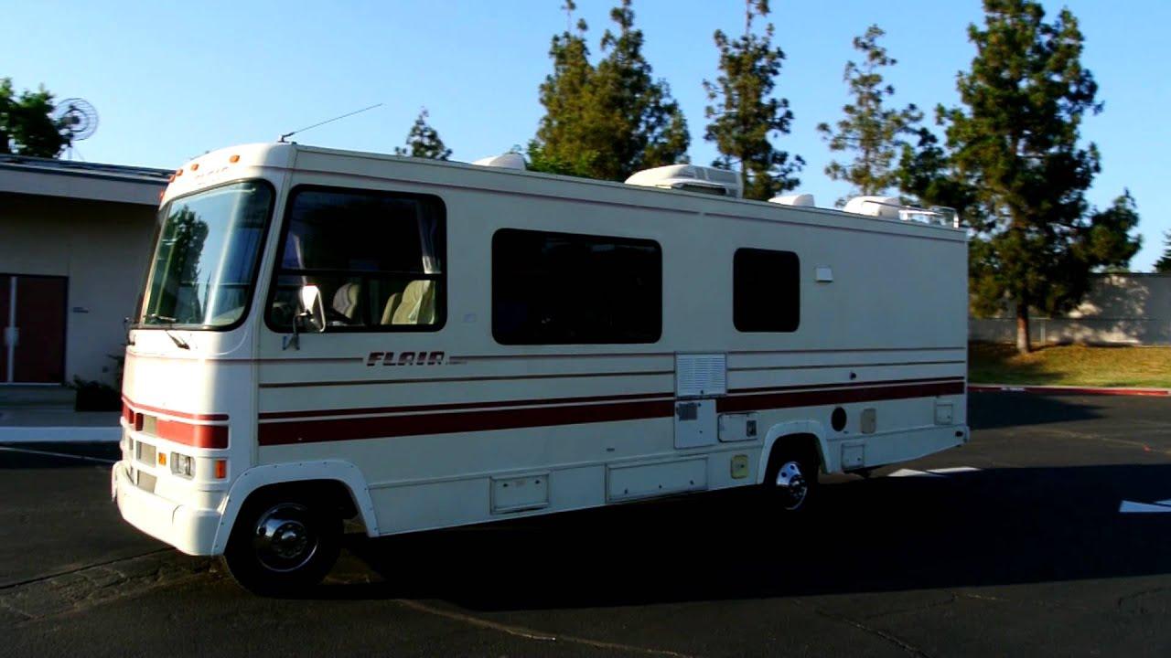 Motorhomes For Sale By Owner >> 1990 Fleetwood Flair 33k Orig Miles RV Camper Motorhome ...
