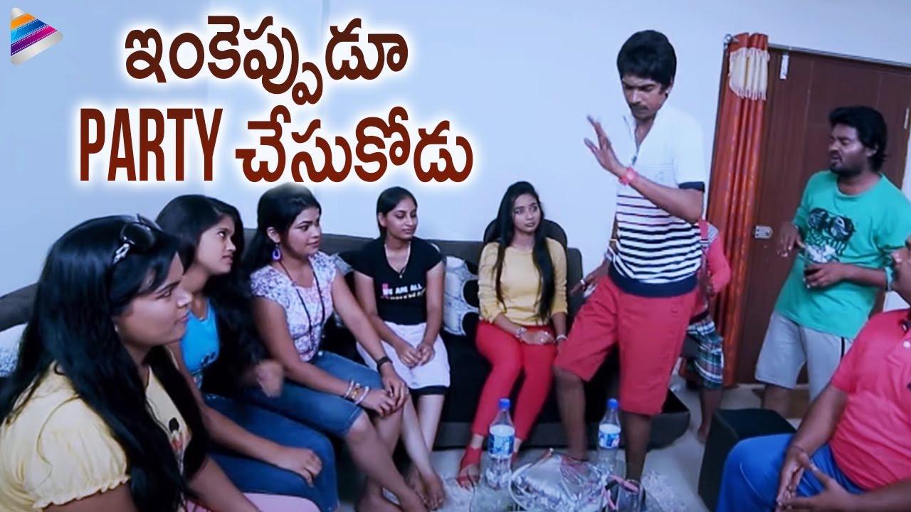 Dhanraj Superb Comedy Scene | Simple Love Story Telugu Movie Scenes | Karthik | Telugu FilmNagar
