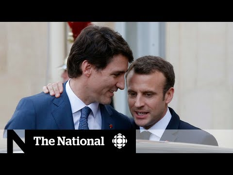 Trudeau and Macron: