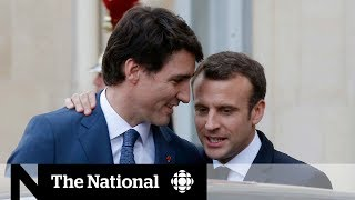 Trudeau and Macron: Friends who agree to disagree