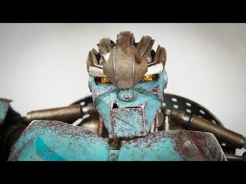 Revisit Threea Ambush Real Steel Figure