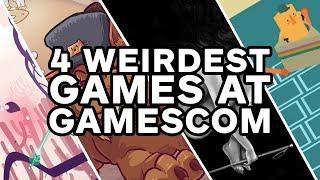 The 4 Weirdest Games We Played at Gamescom - Gamescom 2017
