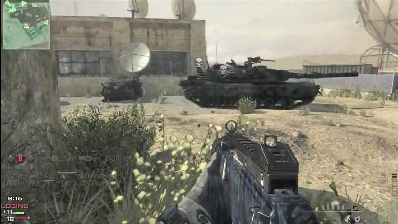 mw3 kill confirmed on dome 409 g36c silenced youtube