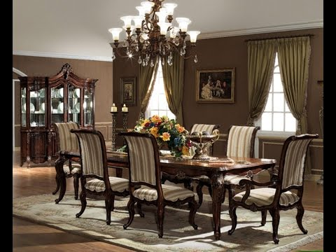 Luxurious Formal Dining Room Tables That Made Of Solid Wood