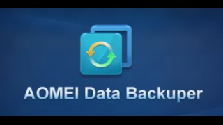 Full Backup/Restore of a Windows System using AOMEI Backupper Standard 2.0