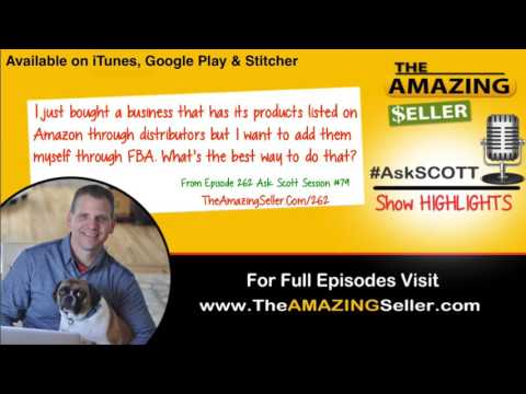 How Can I List A Product On Amazon That Is Already Under A Brand Name? TAS 262 The Amazing Seller
