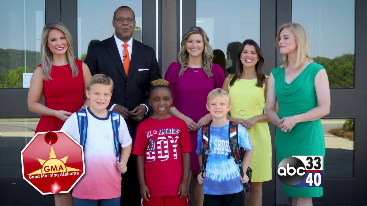 ABC 33/40 Good Morning Alabama Back to School Image 2019 - YouTube