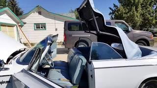 63 Chrysler Newport Convertible Running