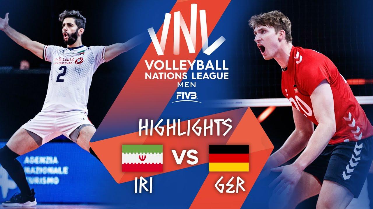Download IRI vs. GER - Highlights Week 3   Men's VNL 2021