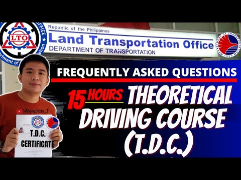 LTO THEORETICAL DRIVING COURSE (TDC) | STUDENT PERMIT UPDATED REQUIREMENT | 2021 | TAGALOG