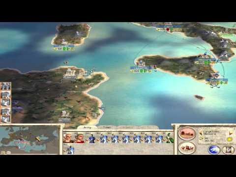 Let's play Rome:Total War Part 3 : Pirates! ... among other things