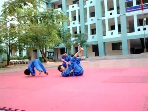 Nhào lộn tập thể( CLB vovinam HaLong_ Tp. Vung Tàu )