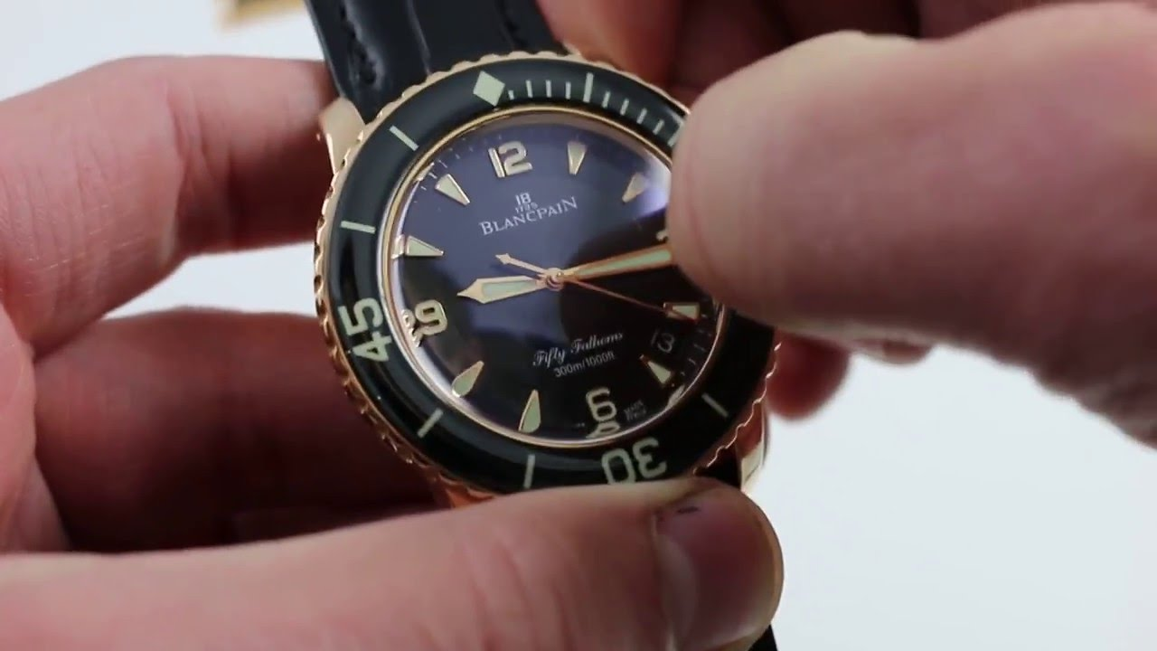Blancpain Fifty Fathoms 5015 3630 52 Luxury Watch Review