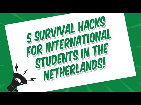 Webinar - 5 Survival Hacks for International Students in the