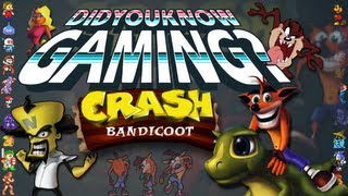[Old] Crash Bandicoot - Did You Know Gaming? Feat. Caddicarus