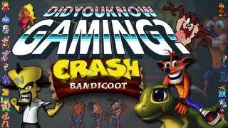 Crash Bandicoot - Did You Know Gaming? Feat. Caddicarus