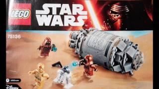 Инструкция к Лего ЗВЁЗДНЫЕ ВОЙНЫ, Lego STAR WARS № 75136
