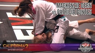 FIVE Grappling California 2: Mackenzie Dern vs Patricia Fontes (Women Brown/Black LW Semi Final)